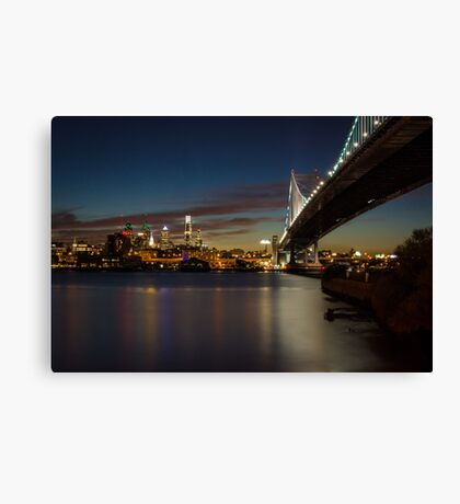 Rutger's View of Philly Canvas Print