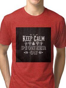 Pioneer On Tri-blend T-Shirt