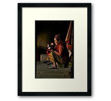 Annapurna Lady Framed Print