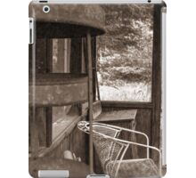 My Grandmother's Sun Room iPad Case/Skin