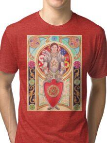 Sir Gawain the Gallant Tri-blend T-Shirt