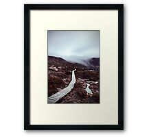 Skypath Framed Print