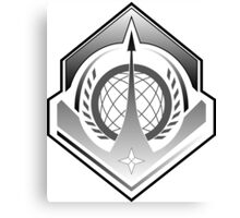 Halo: Guardians - UNSC Navy Insignia Canvas Print