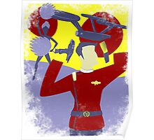 Send in Uhura Poster