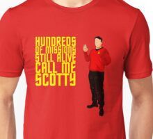 Scotty Always Survives Unisex T-Shirt