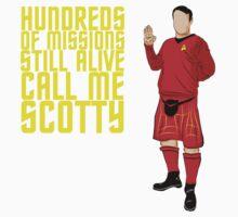 Kilted Scotty Still Lives Kids Tee