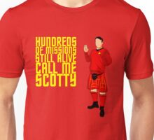 Kilted Scotty Still Lives Unisex T-Shirt