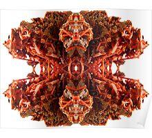 Crystalline Vermillion :: Svadhisthana Yantra Poster