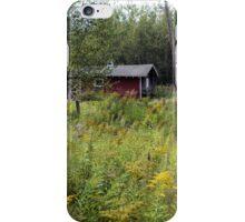 Rustic Red Barn iPhone Case/Skin