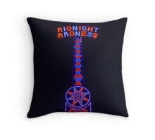 Meet Midnight Madness Throw Pillow