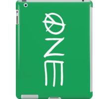 ONE peace sign iPad Case/Skin