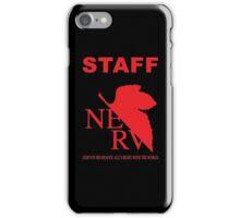 Nerv Staff iPhone Case/Skin