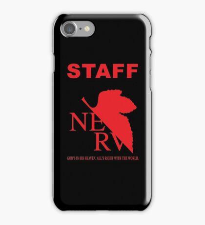 Nerv Staff iPhone Case/Skin
