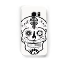 Cogs and Chains skull Samsung Galaxy Case/Skin