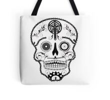 Cogs and Chains skull Tote Bag