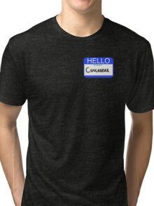 Hello My Name Is Conchobar  Tri-blend T-Shirt