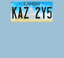 Supernatural Kansas Impala Plate T-Shirt