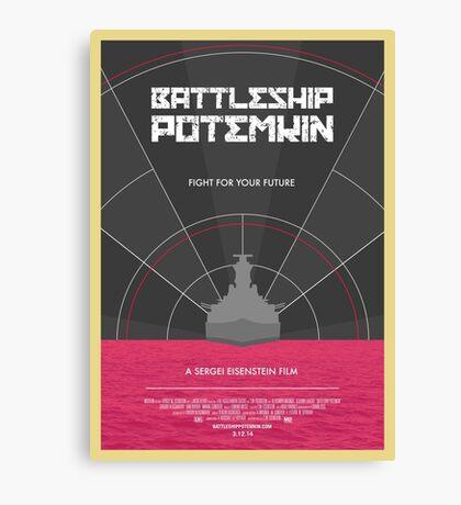Battleship Potemkin Film Poster Canvas Print