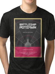Battleship Potemkin Film Poster Tri-blend T-Shirt