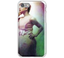 Staring into the Moon iPhone Case/Skin
