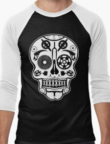 Symmetry skull Men's Baseball ¾ T-Shirt