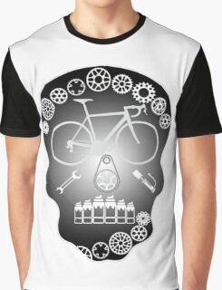 Grey Skull Graphic T-Shirt