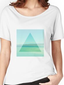 Ocean Triangle Women's Relaxed Fit T-Shirt