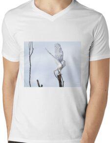 Transcend Mens V-Neck T-Shirt