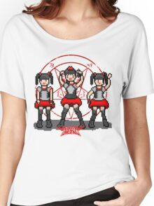 """Baby """"Pixel"""" Metal !! (White) Women's Relaxed Fit T-Shirt"""