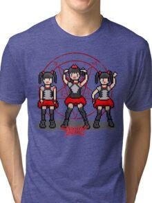 "Baby ""Pixel"" Metal !! (White) Tri-blend T-Shirt"