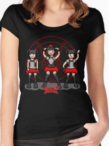 "Baby ""Pixel"" Metal !! (black) Women's Fitted Scoop T-Shirt"