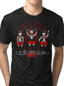 "Baby ""Pixel"" Metal !! (black) Tri-blend T-Shirt"