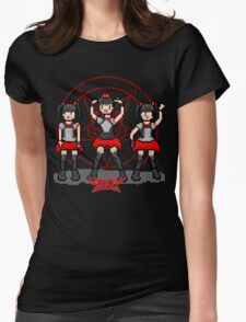 """Baby """"Pixel"""" Metal !! (black) Womens Fitted T-Shirt"""