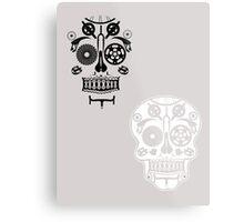 Skull shirt 2 Metal Print