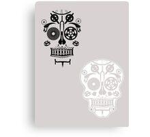 Skull shirt 2 Canvas Print