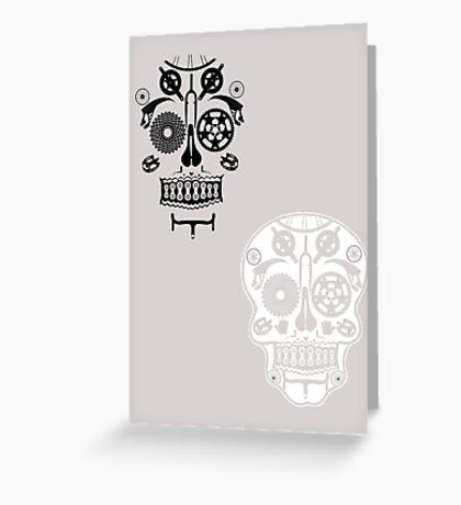 Skull shirt 2 Greeting Card
