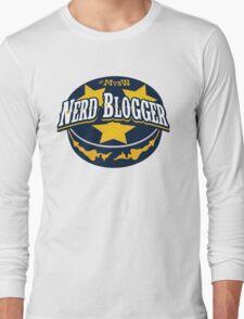 Nerd Blogger! Long Sleeve T-Shirt