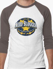 Nerd Blogger! Men's Baseball ¾ T-Shirt