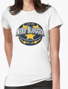 Nerd Blogger! Womens Fitted T-Shirt