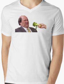 The Office Kevin Doesn't Like Broccoli Mens V-Neck T-Shirt