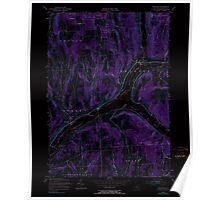 New York NY Truxton 136970 1955 24000 Inverted Poster