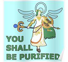 PALUTENA | Super Smash Taunts | You shall be purified Poster