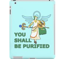 PALUTENA | Super Smash Taunts | You shall be purified iPad Case/Skin