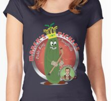 The Pickle King of Stouffville Women's Fitted Scoop T-Shirt