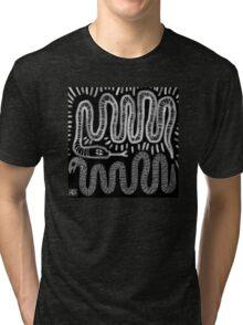 snake skin Tri-blend T-Shirt