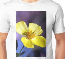 Yellow Cosmos Flower Unisex T-Shirt