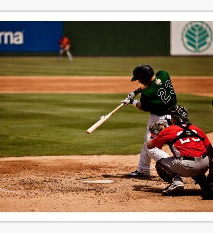 Baseball Hit Sticker