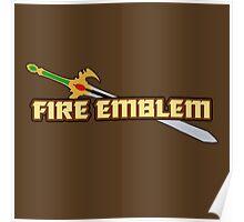 GENEALOGY OF THE HOLY WAR   Fire Emblem Titles Poster