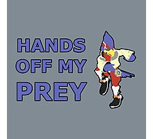 FALCO | Super Smash Taunts | Hands off my prey Photographic Print