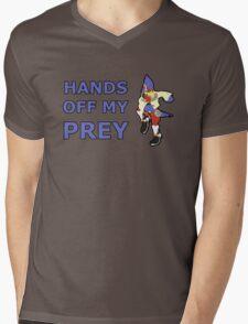 FALCO   Super Smash Taunts   Hands off my prey Mens V-Neck T-Shirt